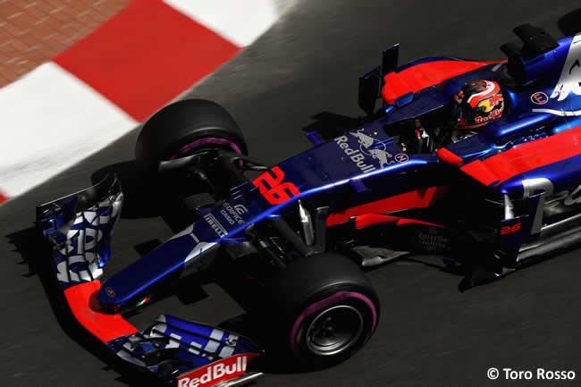 Daniil Kvyat - Toro Rosso - GP Mónaco 2017 - Jueves