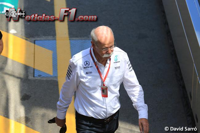 Dieter Zetsche - Mercedes AMG - David Sarró - www.noticias-f1.com
