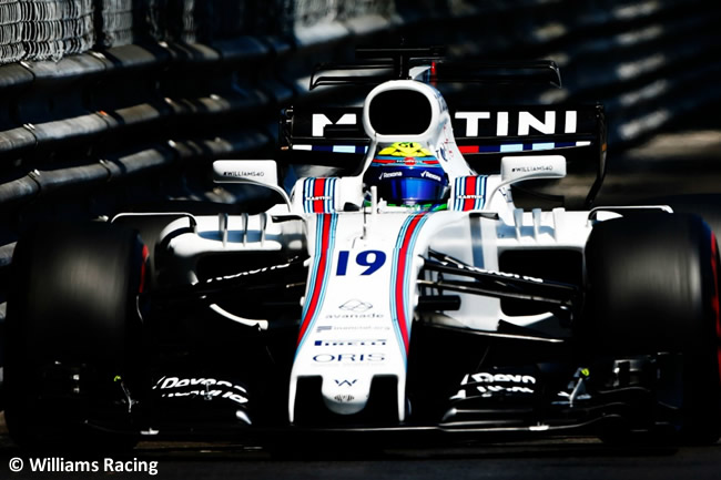 Felipe Massa - Williams - GP Mónaco 2017 - Carrera