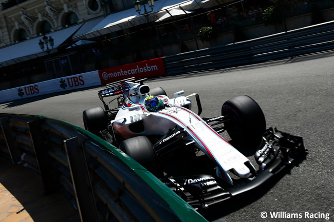 Felipe Massa - Williams - Calificación - GP Mónaco 2017