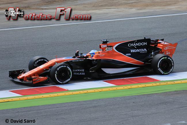 Fernando Alonso - McLaren-Honda - David Sarró - www.noticias-f1.com