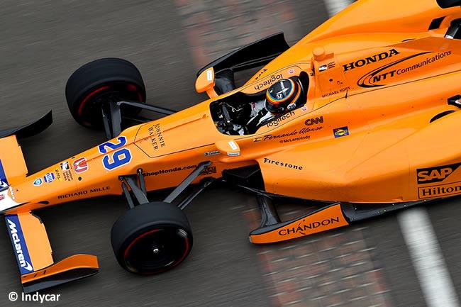 Fernando Alonso - McLaren - Honda - IndyCar - Test