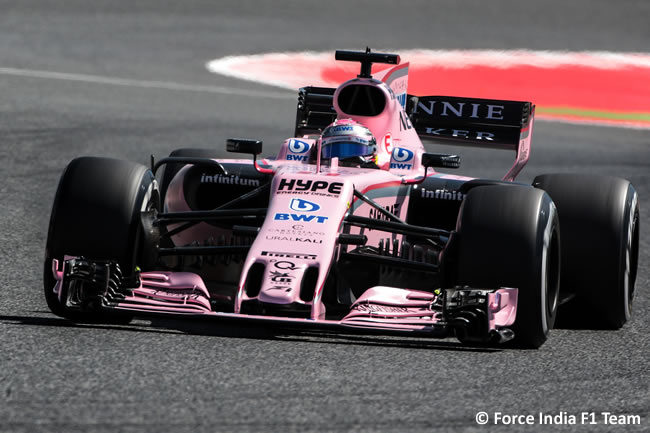 Force India - Calificación- GP España 2017