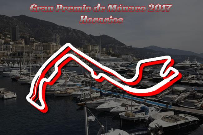 GP Mónaco 2017 - Horarios