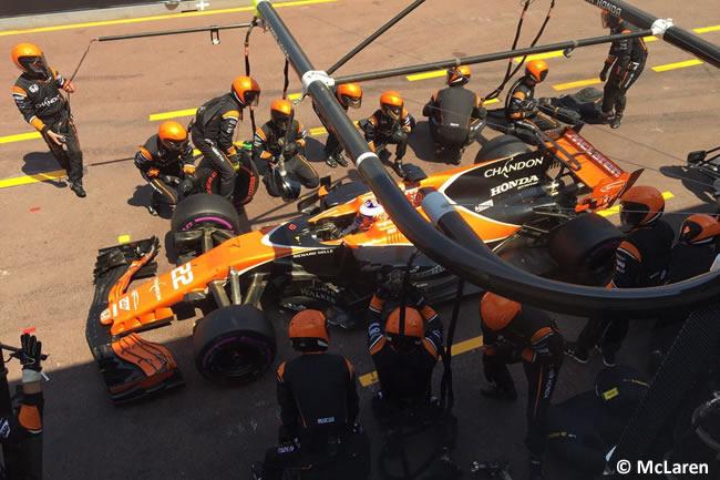 Jenson Button - McLaren-Honda - GP Mónaco 2017 - Carrera