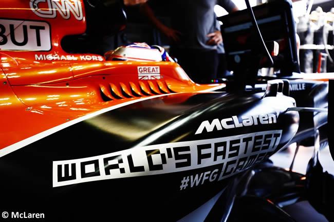 Jenson Button - McLaren-Honda - Calificación - GP Mónaco 2017