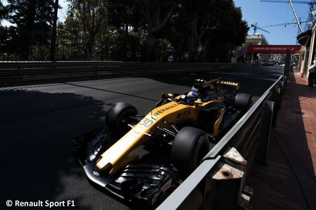 Jolyon Palmer - Renault Sport - GP Mónaco 2017 - Carrera