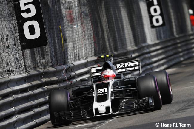 Kevin Magnussen - Haas - GP Mónaco 2017 - Jueves