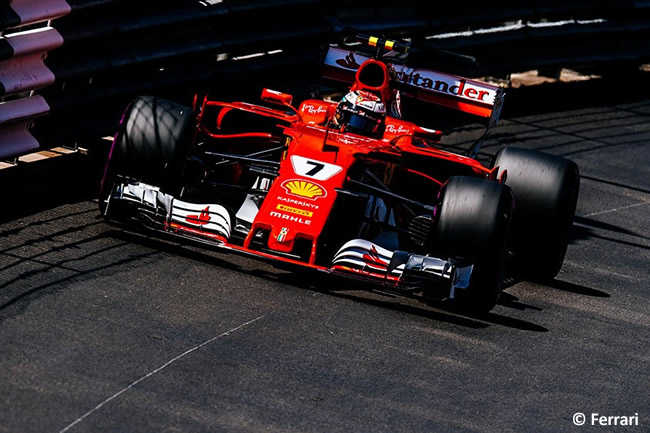 Kimi Raikkonen - Scuderia Ferrari - Calificación - GP Mónaco 2017