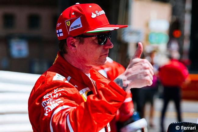 Kiimi Raikkonen - Scuderia Ferrari - Pole - Calificación - GP Mónaco 2017