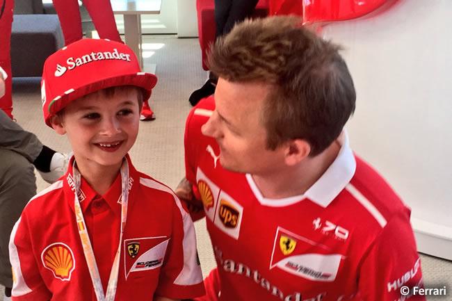 Kimi Raikkonen - Scuderia Ferrari - Val - GP España 2017