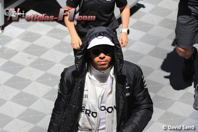 Lewis Hamilton - Mercedes - David Sarró - www.noticias-f1.com