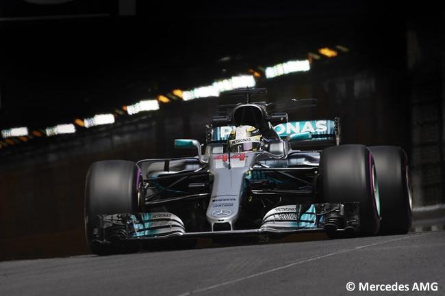Lewis Hamilton - Mercedes AMG - GP Mónaco 2017 - Jueves
