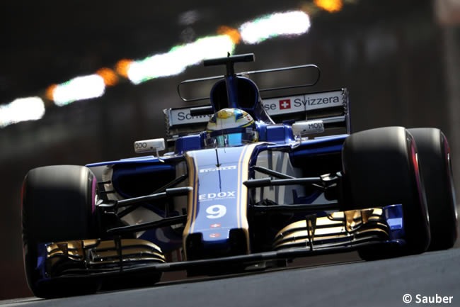 Marcus Ericsson - Sauber - GP Mónaco 2017 - Jueves