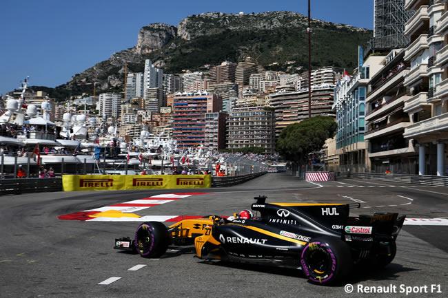 Nico Hulkenberg - Renault Sport - Calificación - GP Mónaco 2017