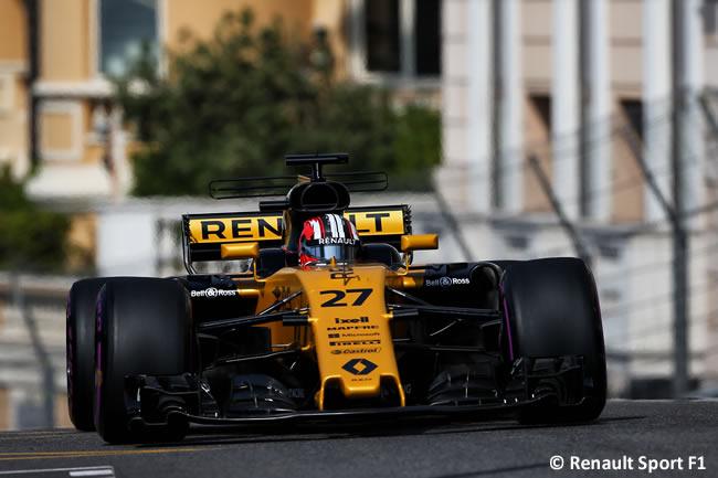 Nico Hulkenberg - Renault Sport - GP Mónaco 2017 - Jueves
