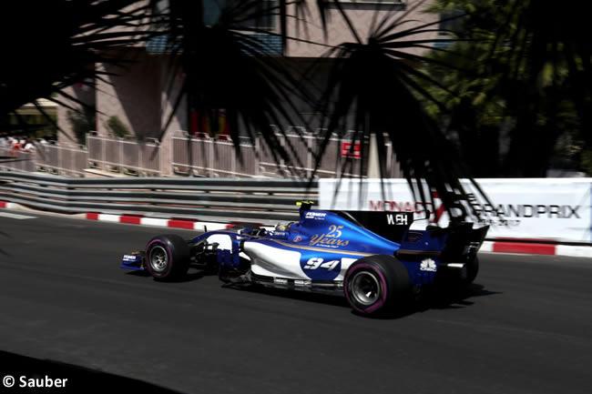 Pascal Wehrlein - Sauber - GP Mónaco 2017 - Carrera