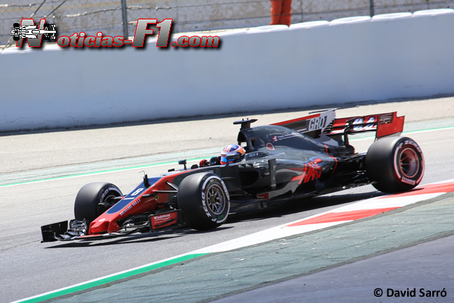 Romain Grosjean - Haas - David Sarró - www.noticias-f1.com