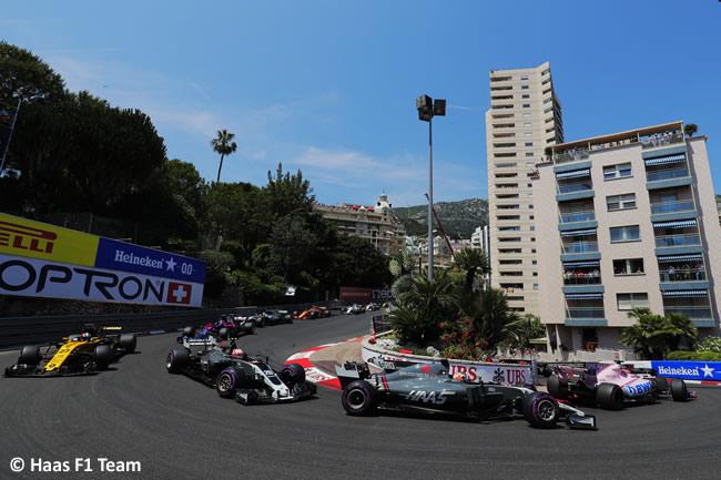 Romain Grosjean - Haas F1 - GP Mónaco 2017 - Carrera