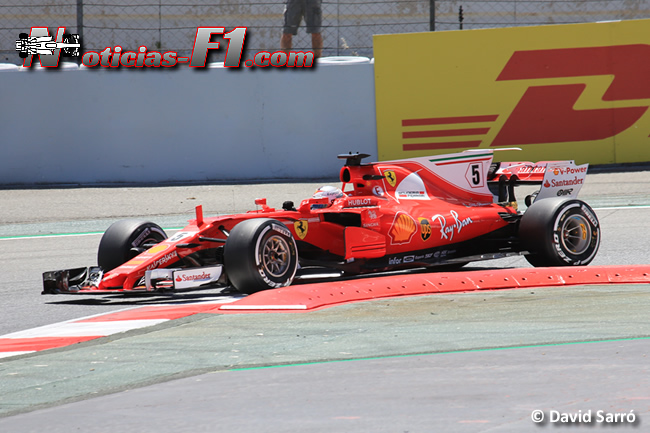 Sebastian Vettel - Scuderia Ferrari - Davi Sarró - www.noticias-f1.com