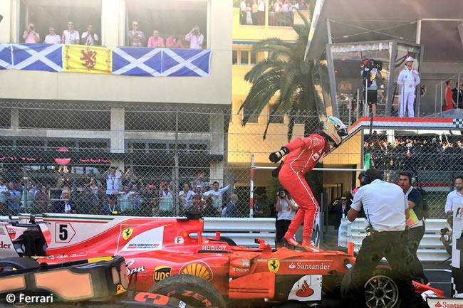 Sebastian Vettel - Scuderia Ferrari - GP Mónaco 2017 - Carrera