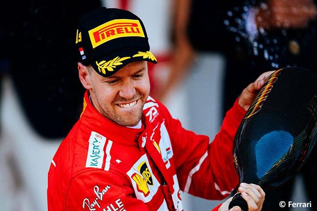 Sebastian Vettel - Scuderia Ferrari -+ GP Mónaco 2017