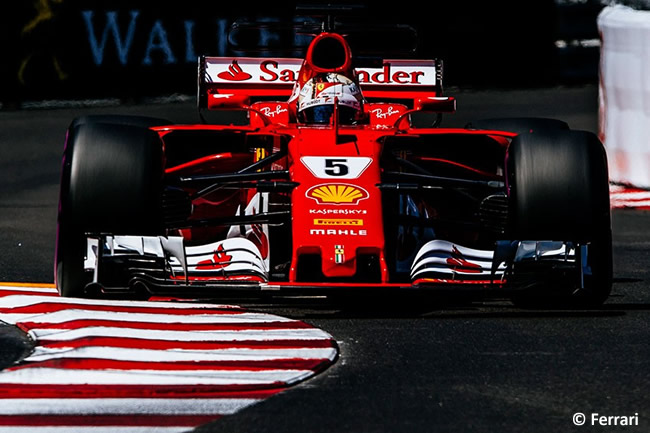 Sebastian Vettel - Scuderia Ferrari - Victoria - GP Mónaco 2017