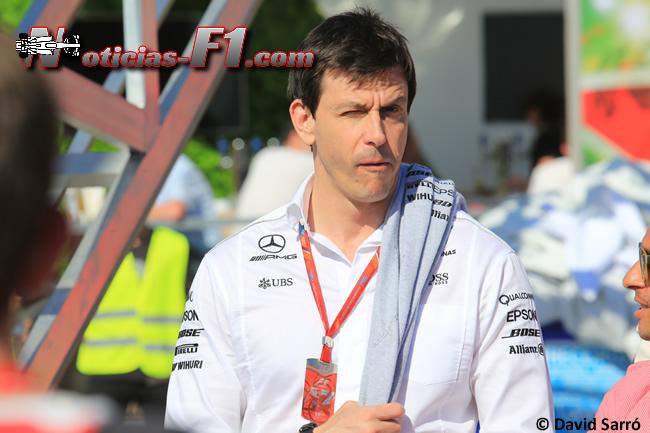 Toto Wolff - Mercedes AMG - www.noticias-f1.com - David Sarró