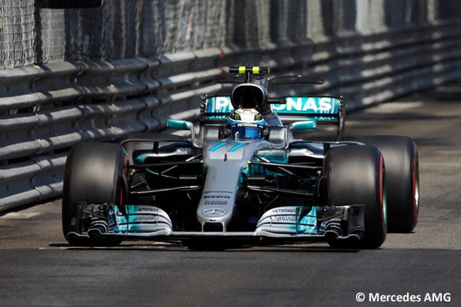Valtteri Bottas - Mercedes - GP Mónaco 2017 - Carrera