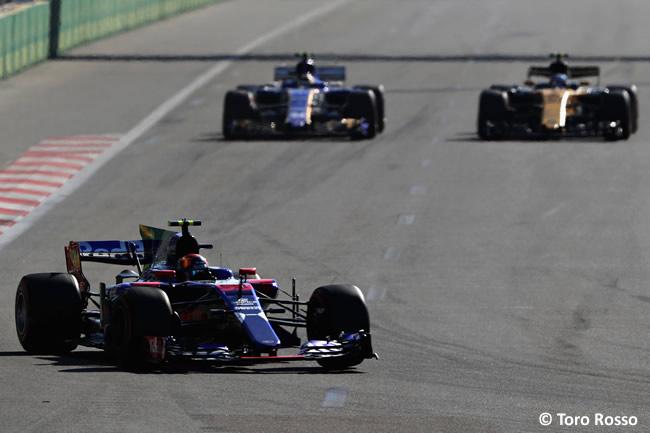 Carlos Sainz - Toro Rosso - GP Azerbaiyán 2017