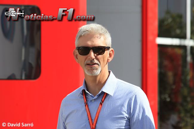 Damon Hill - David Sarró - www.noticias-f1.com