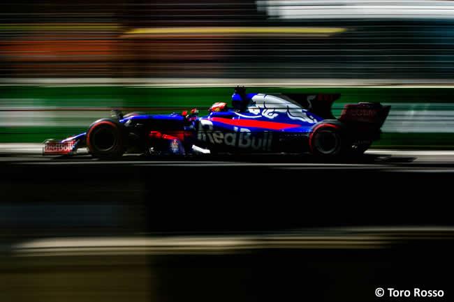 Daniil Kvyat - Toro Rosso - Calificación GP Azerbaiyán 2017