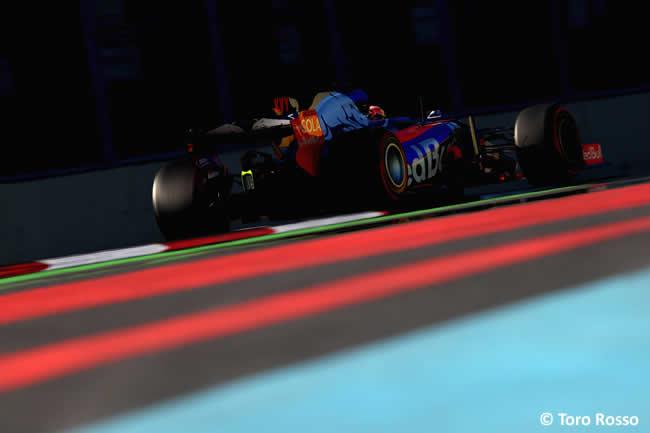 Daniil Kvyat - Toro Rosso - Viernes GP Azerbaiyán 2017