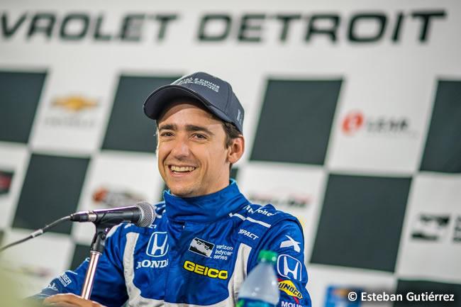 Esteban Gutiérrez - Indycar - 2017