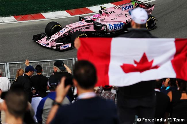 Esteban Ocon - Force India - GP Canadá 2017 - Entrenamientos