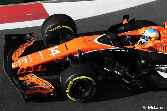 Fernando Alonso - McLaren - GP Azerbaiyán 2017