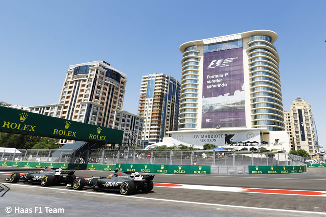 Haas F1 - Viernes GP Azerbaiyán 2017