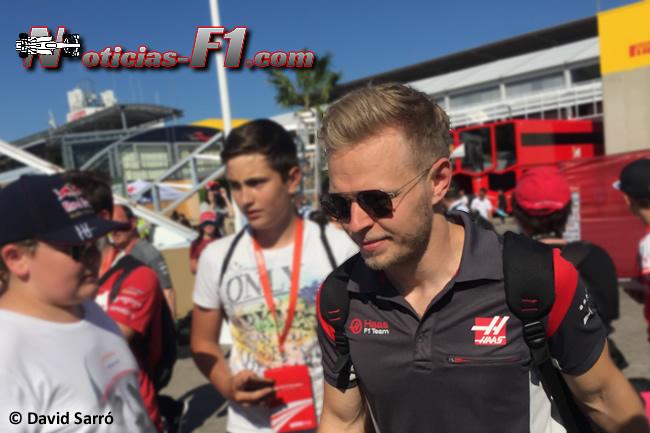 Kevin Magnussen - Haas F1 - David Sarró - www.noticias-f1.com