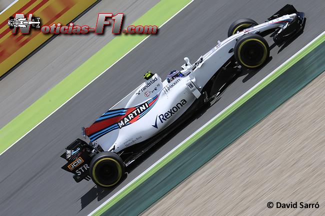 Lance Stroll - Williams - David Sarró - www.noticias-f1.com