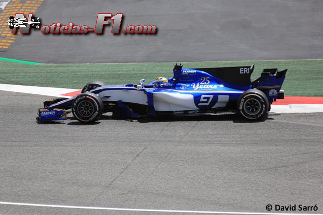 Marcus Ericsson - Sauber - 2017 - David Sarró - www.noticias-f1.com