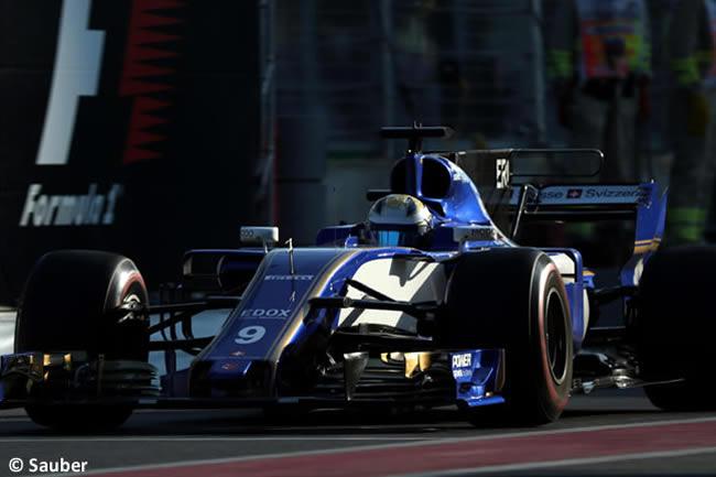 Marcus Ericsson - Sauber - Viernes GP Azerbaiyán 2017