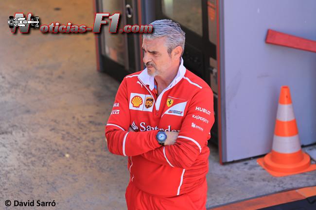 Maurizio Arrivabene - Scuderia Ferrari - David Sarró - www.noticias-f1.com