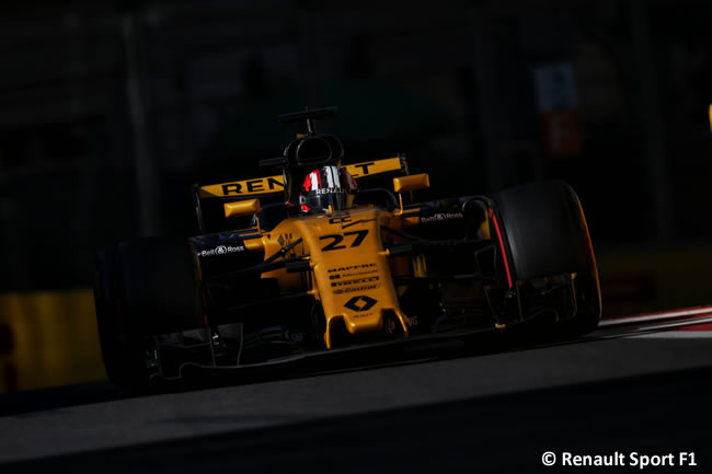 Nico Hulkenberg - Renault - GP Azerbaiyán 2017