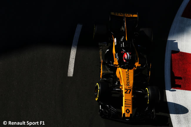 Nico Hulkenberg - Renault Sport - Viernes GP Azerbaiyán 2017