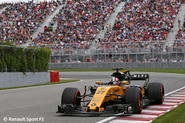 Nico Hulkenberg - Renault Sport - GP Canadá 2017 - Entrenamientos