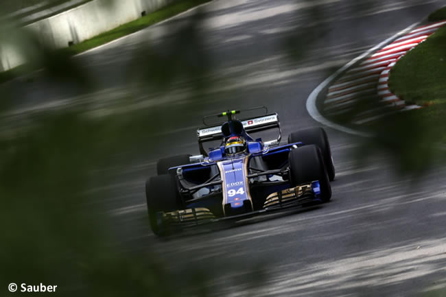 Pascal Wehrlein - Sauber - GP Canadá 2017 - Entrenamientos