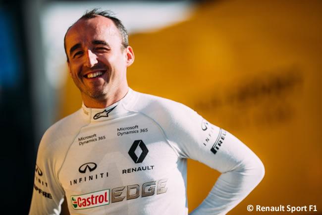 Robert Kubica - Renault Sport F1