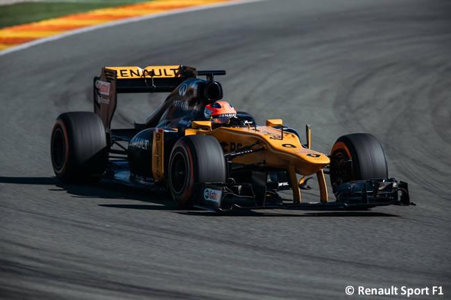 Robert Kubica - Renault - Test - 2017