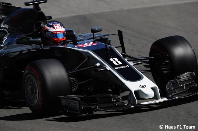 Romain Grosjean -Haas F1 - GP Canadá 2017 - Calificación