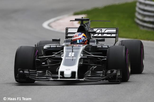 Romain Grosjean - Haas - GP Canadá 2017 - Entrenamientos